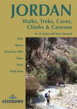 Wandelgids Jordan Walks, Treks Caves, Climbs and Canyons in Jordanië | Cicerone